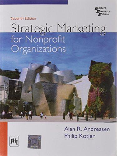 Strategic Marketing for Nonprofit Organizations (Eastern Economy: Alan R. Andreasen