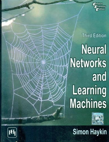 9788120340008: Neural Networks and Learning Machines (3rd Edition)