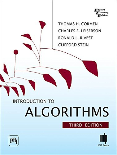 Introduction to Algorithms (Eastern Economy Edition): Cormen, Thomas H.;