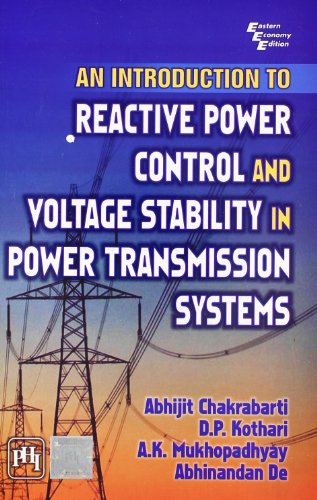 9788120340503: An Introduction to Reactive Power Control and Voltage Stability in Power Transmission Systems