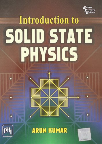 Introduction To Solid State Physics: Kumar