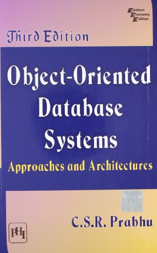 Object?Oriented Database Systems: C.S.R. Prabhu