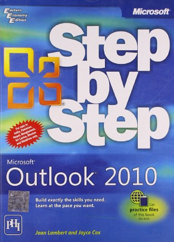 9788120341401: Microsoft Outlook 2010: Step by Step