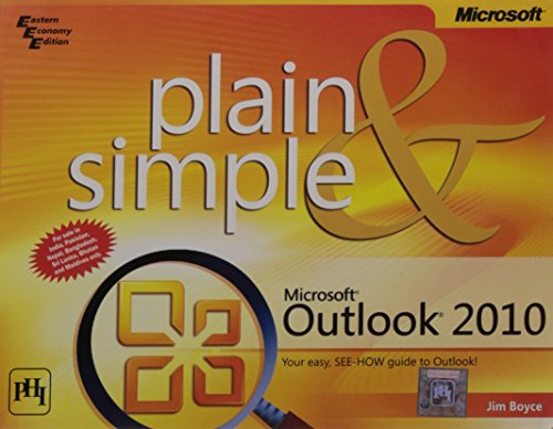 9788120341494: Microsoft Outlook 2010 Plain & Simple