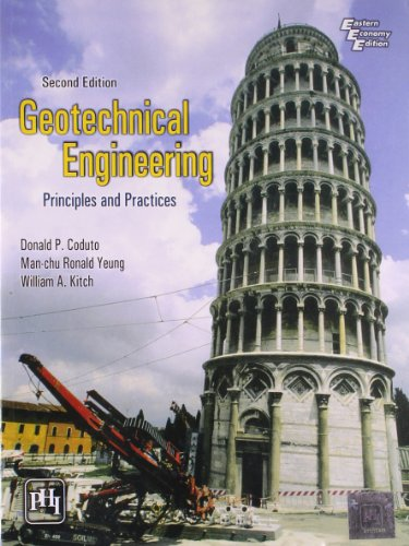 Geotechnical Engineering Principles and Practices: Coduto