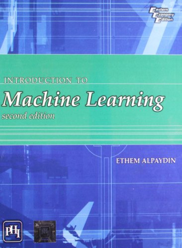 9788120341609: Introduction to Machine Learning