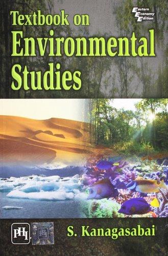 Environmental Studies: S. Kanagasabai
