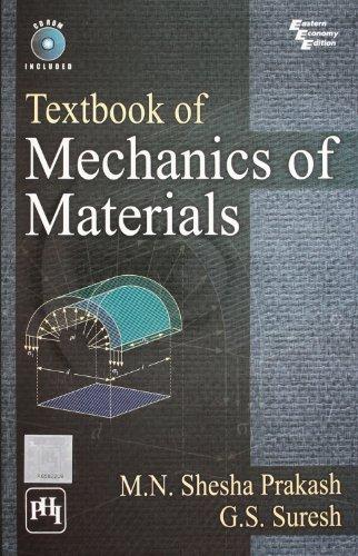 Textbook of Mechanics of Materials: G.S. Suresh,M.N. Shesha