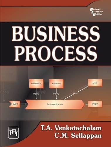 Business Process: C.M. Sellappan,T.A. Venkatachalam
