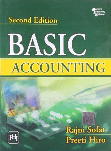 9788120342002: Basic Accounting