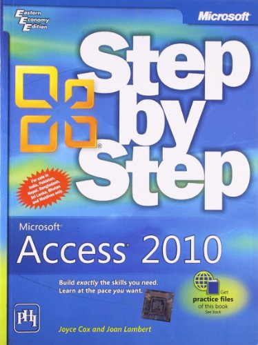 Microsoft® Access® 2010 Step by Step: Cox,Lambert