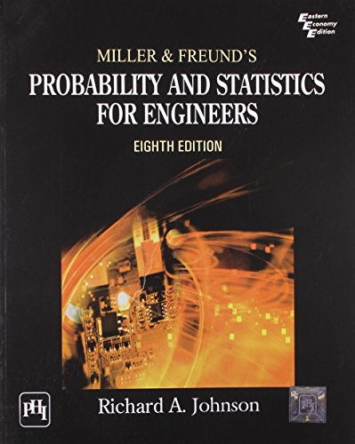 Miller & Freund'S Probability And Statistics For: Johnson