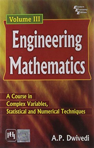 Engineering Mathematics - Volume Iii