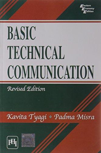9788120342385: Basic Technical Communication