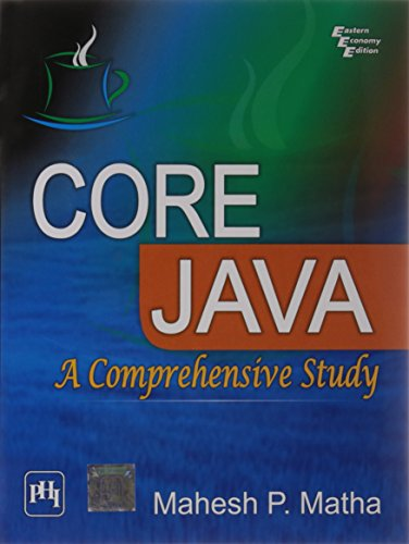 9788120342415: Core Java: A Comprehensive Study