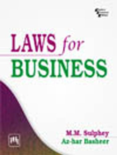 Laws For Business: M. M. Sulphey