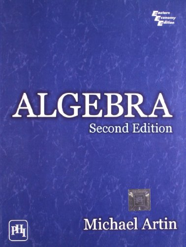 9788120343290: Algebra, Second Edition