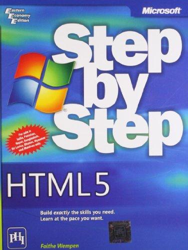 9788120343337: MICROSOFT HTML5 STEP BY STEP