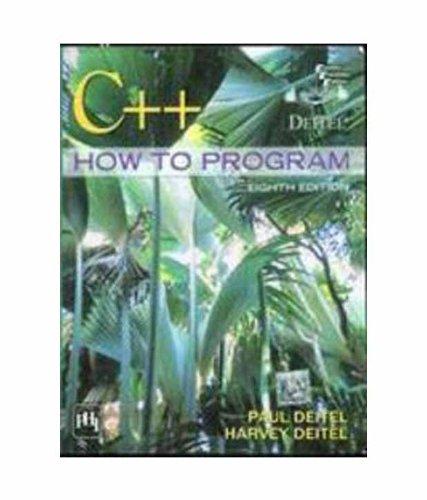 C++: How to Program (Eighth Edition): Harvey Deitel,Paul Deitel