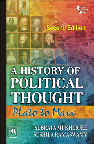 9788120343894: A History Of Political Thought: Plato To Marx