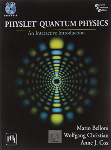 Physlet® Quantum Physics: An Interactive Introduction: Anne J. Cox,Mario Belloni,...