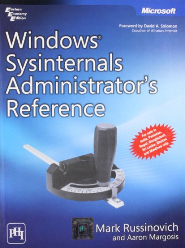 9788120344563: WINDOWS SYSINTERNALS ADMINISTRATOR'S REFERENCE