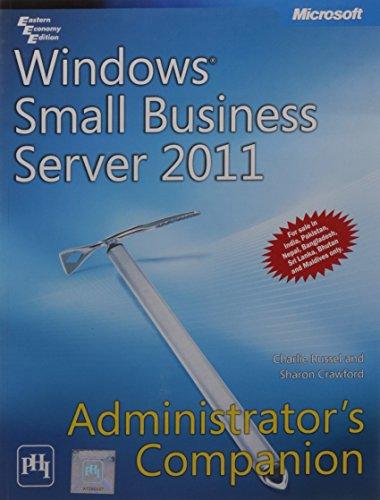 9788120344587: Windows Small Business Server 2011 Administrator's Companion