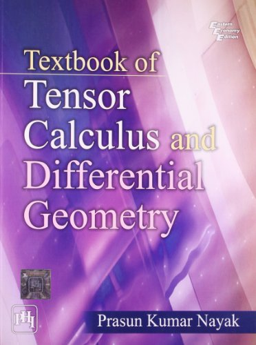 9788120345072: Textbook of Tensor Calculus and Differential Geometry