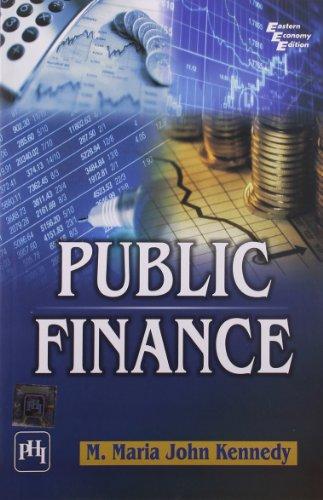 Public Finance: M. Maria John