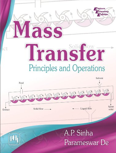 Mass Transfer: Principles and Operations: A.P. Sinha