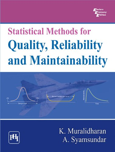 Statistical Methods for Quality, Reliability and Maintainability: A. Syamsundar,K. Muralidharan