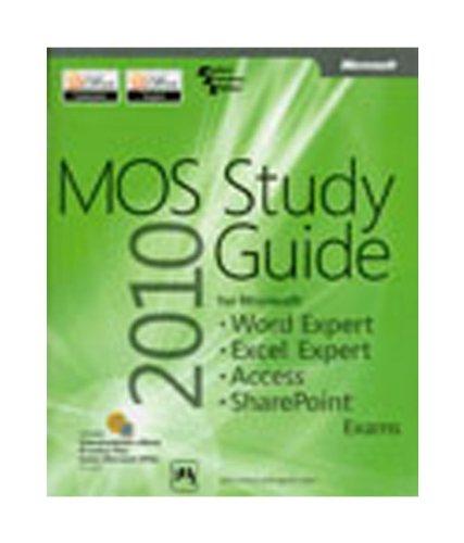 MOS 2010 Study Guide: Word Expert Excel: Geoff Evelyn,John Pierce
