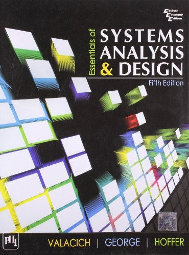 9788120345584: Essentials of Systems Analysis and Design