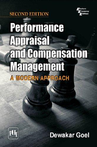 Performance Appraisal and Compensation Management: A Modern: Dewakar Goel