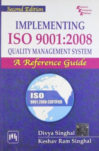 Stock Image Implementing ISO 9001-2008 Quality Management: K. R. Singhal,