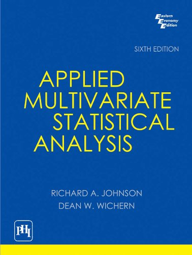 9788120345874: Applied Multivariate Statistical Analysis