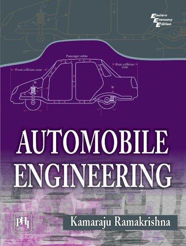 Automobile Engineering: Kamaraju Ramakrishna