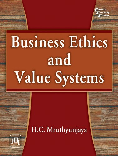 9788120346314: Business Ethics and Value Systems