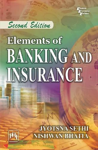 9788120346574: Elements of Banking and Insurance
