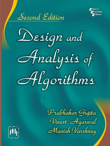 9788120346635: Design and Analysis of Algorithms