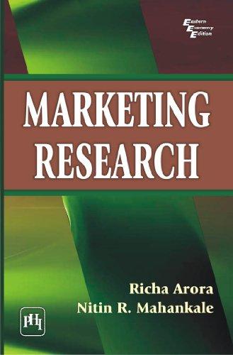 Marketing Research: Nitin R. Mahankale,Richa Arora