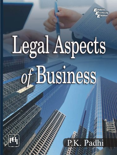 Legal Aspects of Business: P.K. Padhi