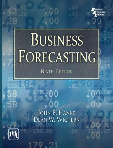 9788120346932: Business Forecasting, 9th ed.?