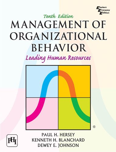 managing human behavior in the organization View test prep - pa quiz 4 from psychology 101 at michigan state university leadership in public organizations chapter 7 managing human behavior in public and non-profit organizations denhardt chapt.