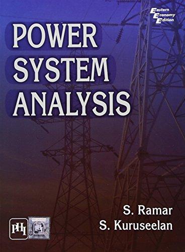 Power System Analysis: S. Ramar,S. Kuruseelan