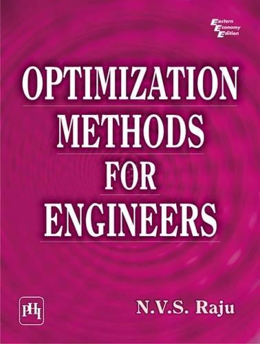 Optimization Methods for Engineers: N.V.S. Raju