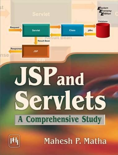 9788120347458: JSP and Servlets: A Comprehensive Study