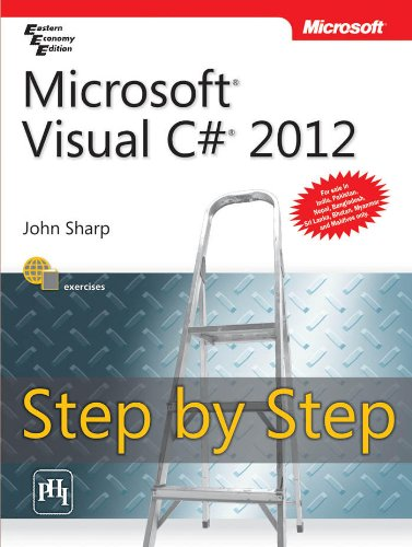 9788120347588: Microsoft Visual C# 2012 Step By Step