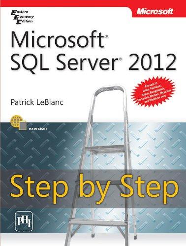 9788120347632: Microsoft SQL Server 2012 Step by Step?
