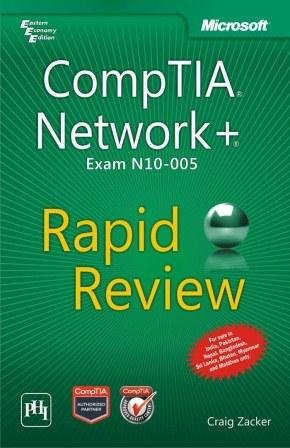 9788120347670: COMPTIA NETWORK+ EXAM N10005-RAPID REVIEW